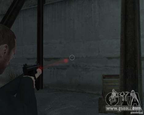 Flashlight for Weapons v 2.0 for GTA 4 third screenshot