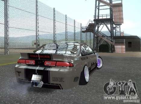 Nissan Silvia S14 Volklinger for GTA San Andreas left view