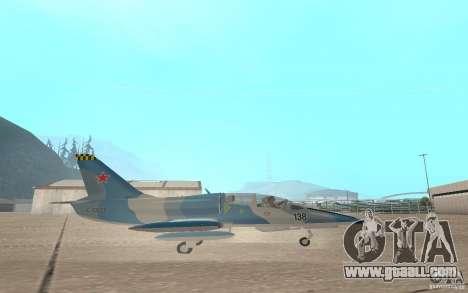 L-39 Albatross for GTA San Andreas back view