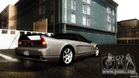 Honda NSX-R 2005 for GTA San Andreas interior