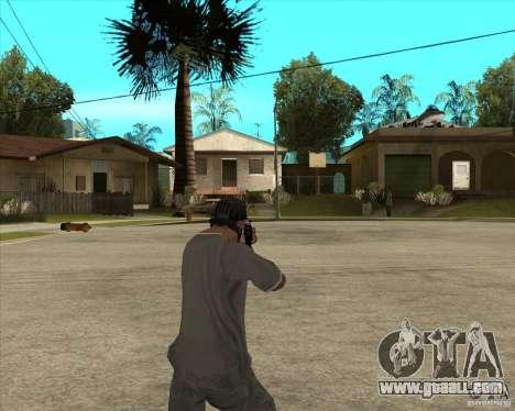 AKS-74 m with GP-25 for GTA San Andreas third screenshot
