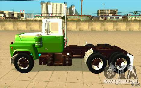 Mack R 1970 for GTA San Andreas left view