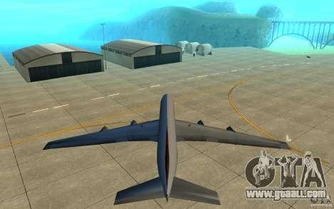 Qantas 707B for GTA San Andreas