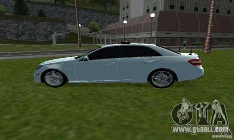 Mercedes-Benz E63 DPS for GTA San Andreas left view