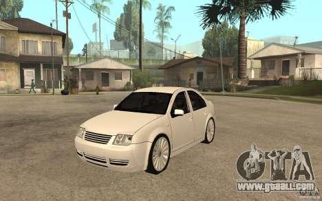 Volkswagen Bora PepeUz Edition for GTA San Andreas