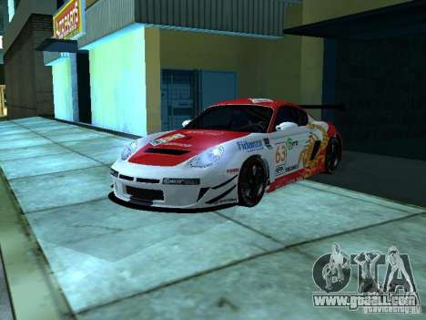 Porsche Cayman S NFS Shift for GTA San Andreas inner view