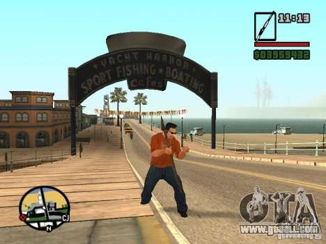 Spear for GTA San Andreas fifth screenshot
