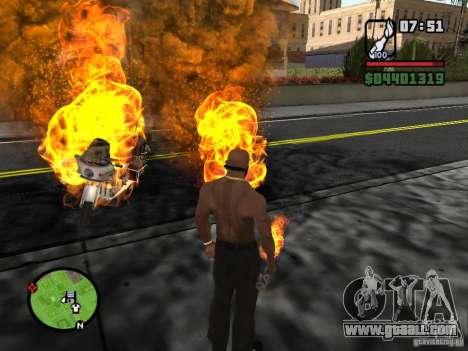Molotov-Cossacks for GTA San Andreas forth screenshot