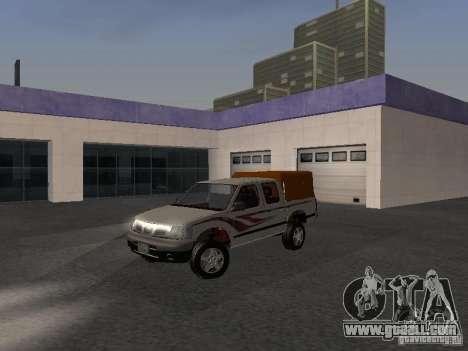 Nissan Pickup for GTA San Andreas back view