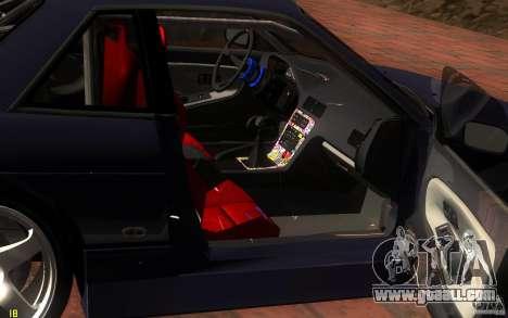 Nissan Silvia S13 Onevia for GTA San Andreas upper view