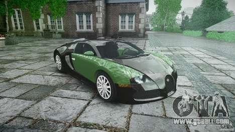 Bugatti Veyron 16.4 for GTA 4 back view