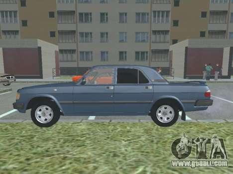 GAZ 3110 Volga v1.0 for GTA San Andreas left view