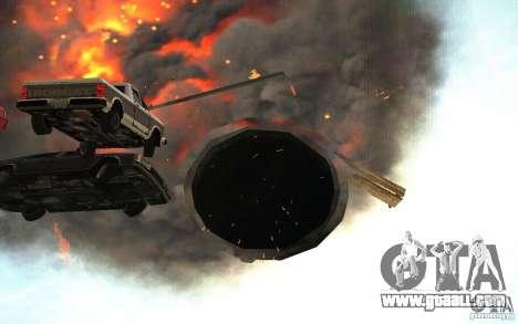 Black hole for GTA San Andreas fifth screenshot