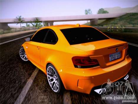 BMW 1M E82 Coupe for GTA San Andreas left view