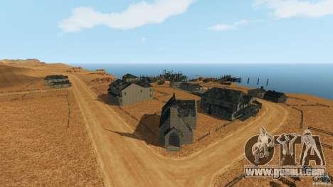 Red Dead Desert 2012 for GTA 4 second screenshot
