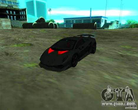 Lamborghini Sesto Elemento 2011 for GTA San Andreas left view