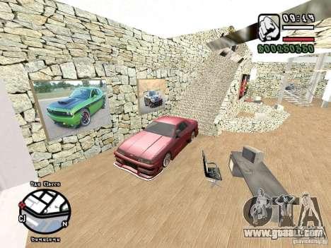 Dodge Salon for GTA San Andreas forth screenshot