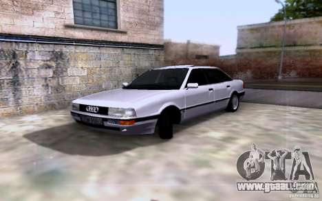 Audi 90 Quattro for GTA San Andreas back view