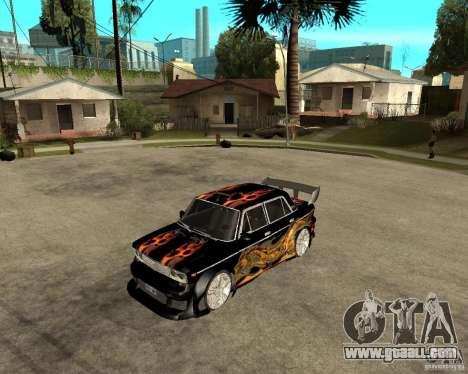 VAZ 2106 GTX tune for GTA San Andreas left view