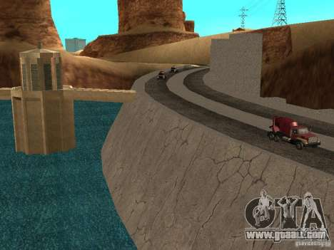 New textures for dams for GTA San Andreas third screenshot