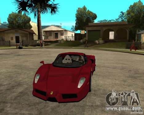 Ferrari ENZO 2003 v.2 final for GTA San Andreas back view