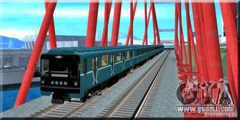 New Train Signal for GTA San Andreas