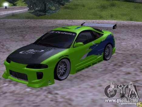 Mitsubishi Eclipse 1998 - FnF for GTA San Andreas
