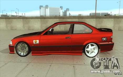 BMW Fan Drift Bolidas for GTA San Andreas left view