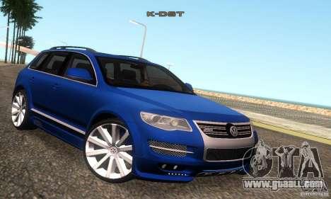 VolksWagen Touareg R50 JE Design Tuning for GTA San Andreas