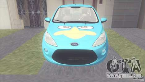 Ford Ka Stance Perry Edtion for GTA San Andreas