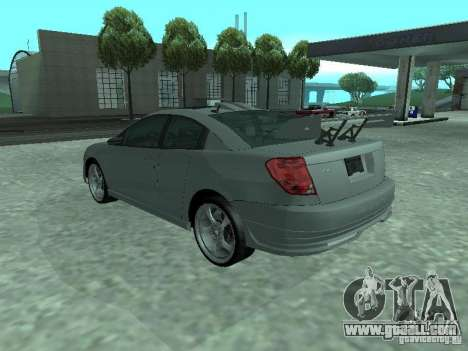 Saturn Ion Quad Coupe 2004 for GTA San Andreas engine