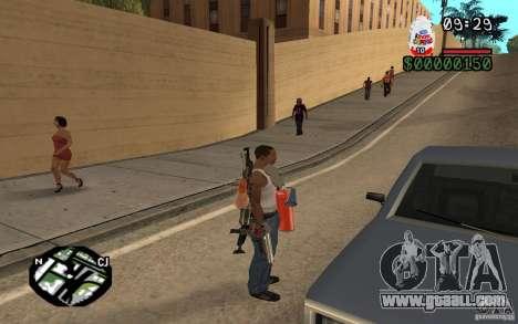 Kinder Surprise for GTA San Andreas third screenshot