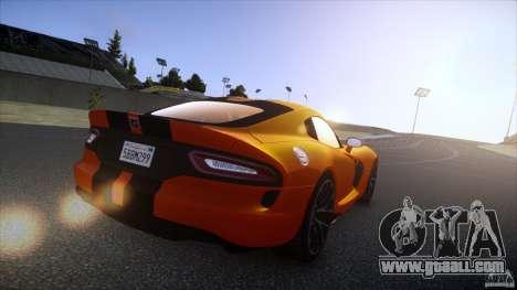 Dodge Viper GTS 2013 v1.0 for GTA 4 left view