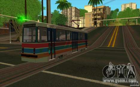 Timis 2 for GTA San Andreas back left view
