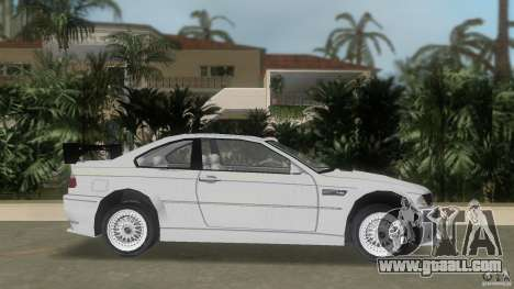 BMW M3 for GTA Vice City left view