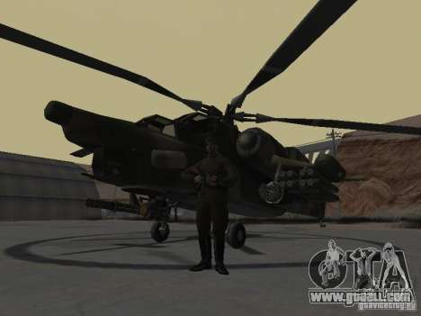 Mi-28 for GTA San Andreas left view