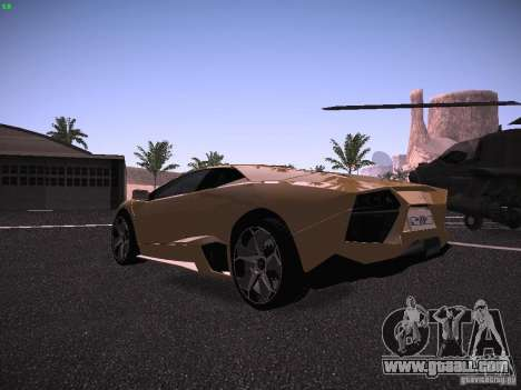 Lamborghini Reventon for GTA San Andreas right view