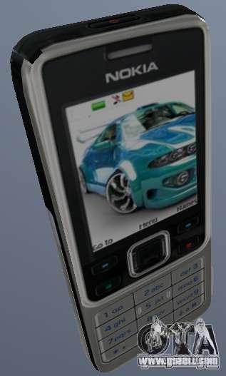 Nokia 6300 Mobile for GTA San Andreas