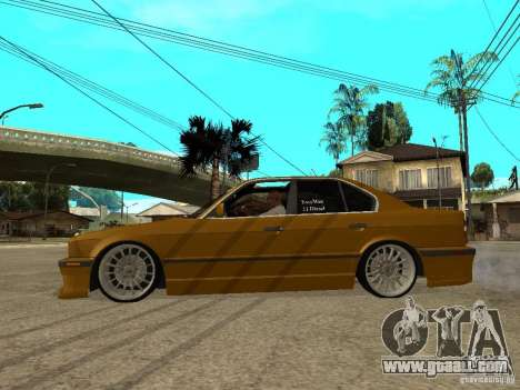 BMW e34 Drift Body for GTA San Andreas