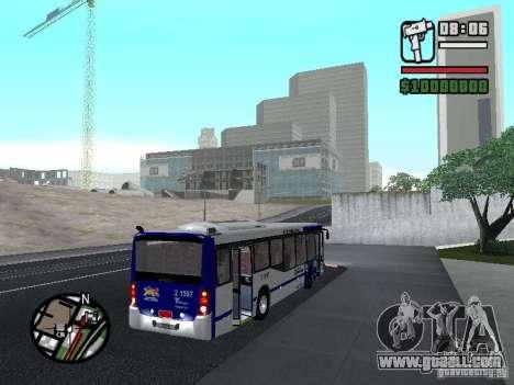 Busscar Urbanuss Ecoss MB 0500U Sambaiba for GTA San Andreas right view