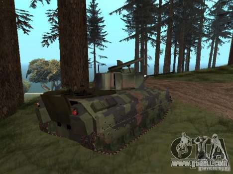 M2A3 Bradley for GTA San Andreas left view