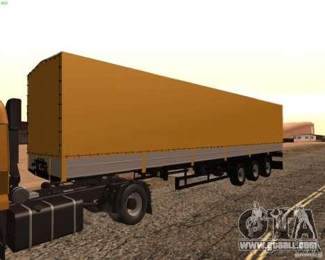 Trailer Nefaz from Truckers 2 for GTA San Andreas