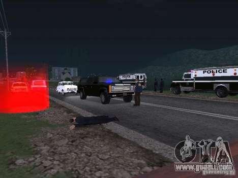 Police Post for GTA San Andreas second screenshot