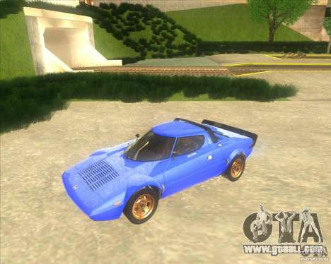 Lancia Stratos 1972 for GTA San Andreas