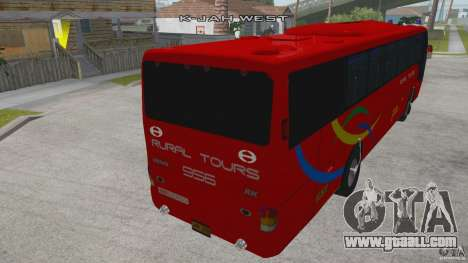 Rural Tours 956 for GTA San Andreas back left view