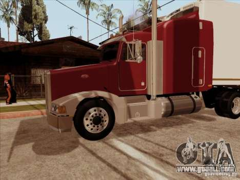 Peterbilt 377 for GTA San Andreas inner view