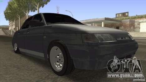 VAZ 2110 Dag for GTA San Andreas back view