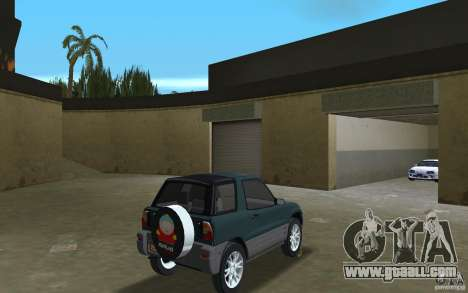 Toyota RAV4 for GTA Vice City right view