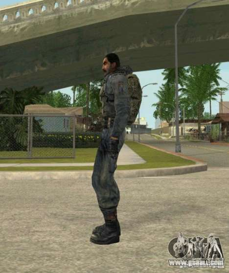 Grouping of Mercenaries from a stalker for GTA San Andreas sixth screenshot