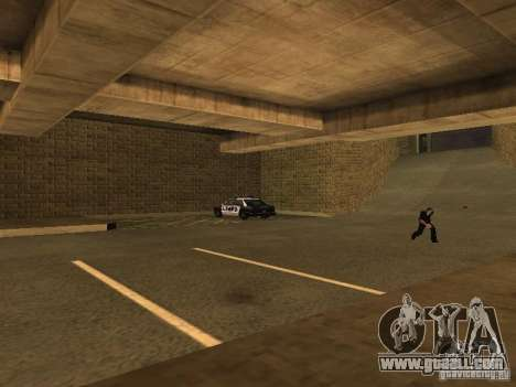 The Los Angeles Police Department for GTA San Andreas fifth screenshot
